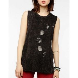UO Project Social L Phases of the Moon black tank